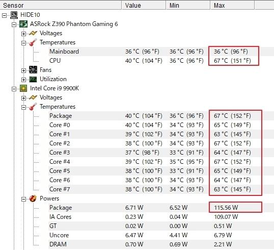 Cinebench R20を計測してみた! i9-9900K – A2-blog