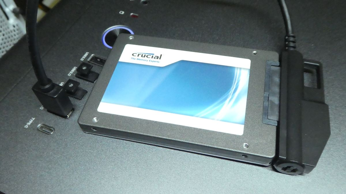 Inateck SATA-USB 3.0 変換アダプタケーブル「UA1003」を買ってみた ...