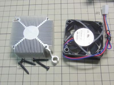 AM1 AM1B-ITX CPU ASRock AMD Athlon 5150 Kabini 取付 クーラー