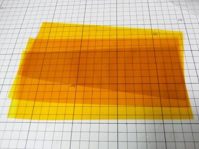 温度センサー サーミスタ 琥珀色 テープ Polyimide ポリイミド ポリミド カプトン 東レ デュポン 耐熱