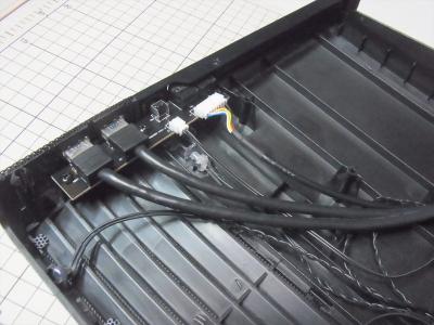 Fractal Design Node 804 フロントパネル 分解