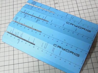 CRYORIG ORIGAMI CASE DEPTH CHECKER オリガミ 折り紙
