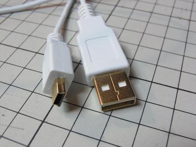 iBUFFALO USB2.0ケーブル (A to miniB) スリムタイプ ホワイト 1m BSUAMNSM210WH CX4 ricoh リコー デジカメ ケーブル