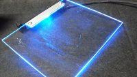 アクリル板LED ~PC電源のホコリ堆積軽減&落下物防止~