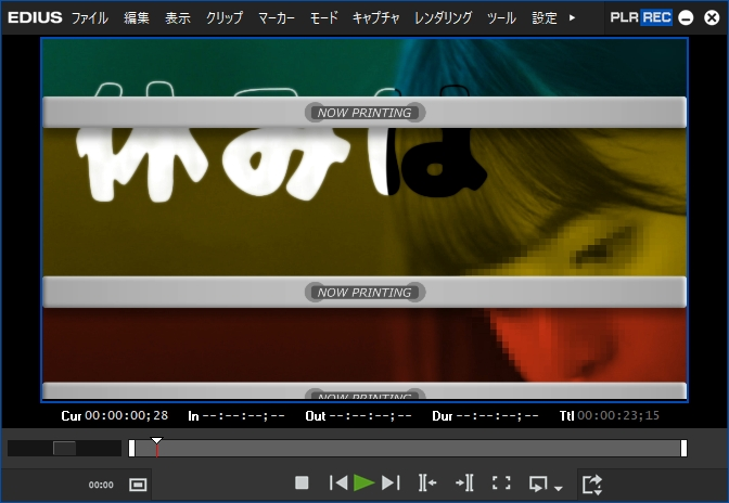白石麻衣 YouTubeチャンネル「my channel」のオープニング動画をEDIUSで作ってみた!