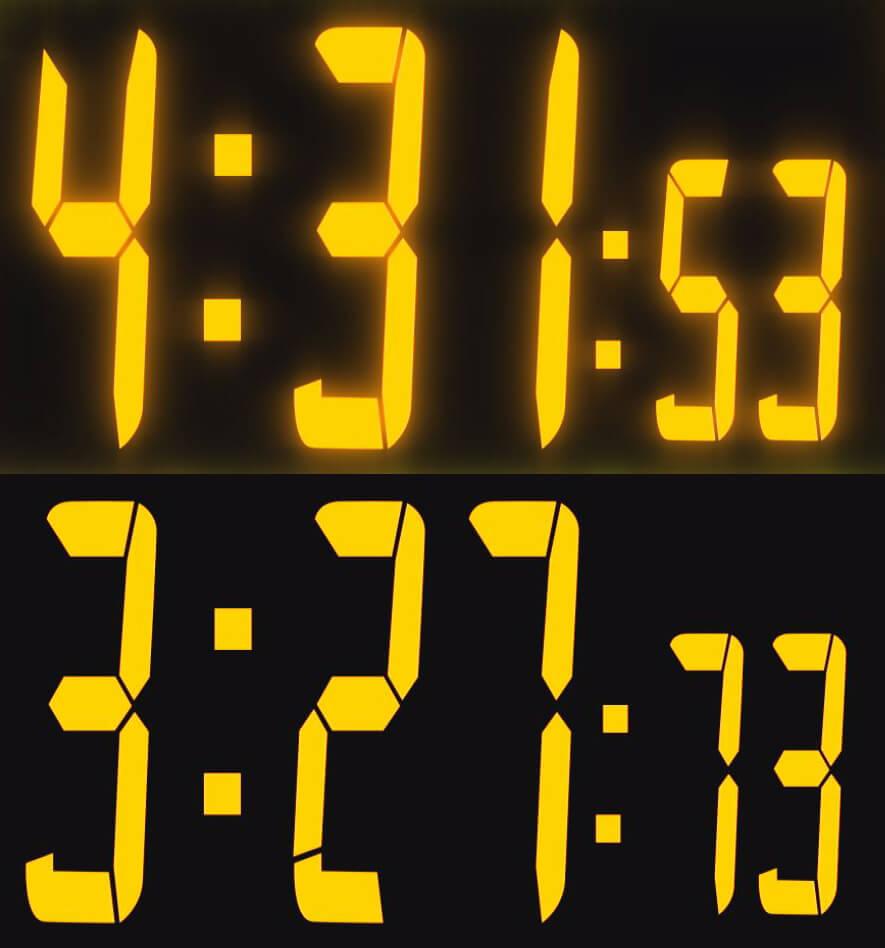 デジタルカウンター(時計)の作り方② 応用編