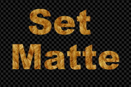 セットマット [Set Matte]